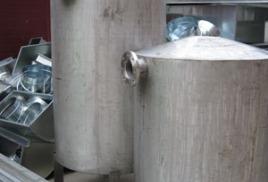 изготовление емкостей из нержавеющей стали.